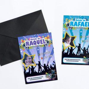 Convite Balada Flyer