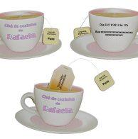 Convite chá de cozinha xícara de chá